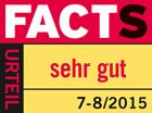 FACTS sehr gut 7-8/2015